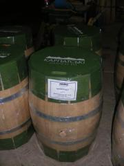 Barrels oak for wine