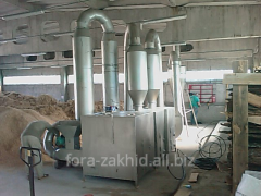 Drying SA-3 unit (3 boilers)