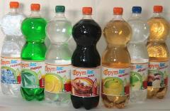 Воды газированные, Напитки сладкие газированные -