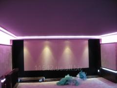 Натяжні акустичні стіни й стелі Clipso