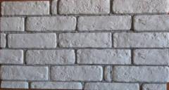 Facing decorative stone. Series 150 art 0702 Brick