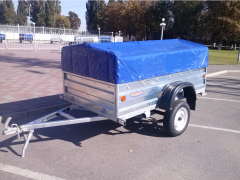 The KRKZ-150 trailer height of a board is 450 mm
