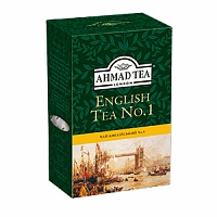 Tea black Ahmad 100gr English No. 1