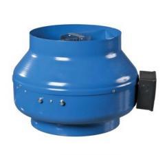 Круглый канальный вентилятор Вентс ВКМ 125 (бурый