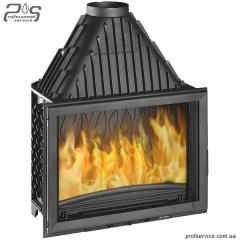 Chimney fire chamber of INVICTA 800 GRANDE VISION