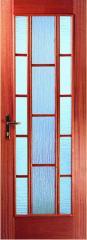 Двери стеклянные межкомнатные Триада, двери от