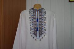 Сорочка-вышиванка лен