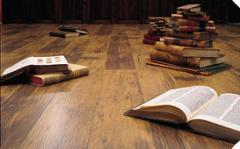 Coverings of floors from a laminate (laminate),