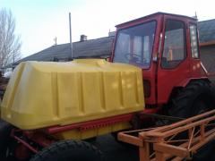 Sprayer for application of fertilizers of 1500 l