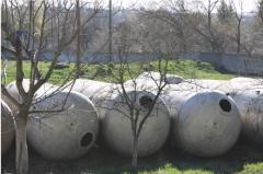 Емкости алюминиевые из пищевой нержавеющей стали