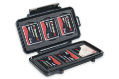 Case for Peli 0945 memory cards