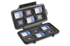 Case for Peli 0915 memory cards