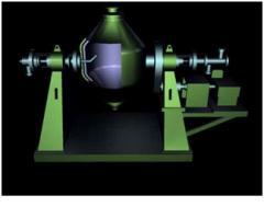Сушилка эмалированная барабанного типа вакуумная V=1,0 м3