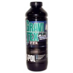 Anti-gravel covering black GRAVITEX PLUS®: HS