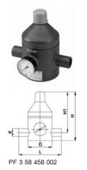 Клапан понижения давления тип V 182,  PVC-UС...