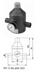 Клапан понижения давления тип V 82,  PVC-UС...
