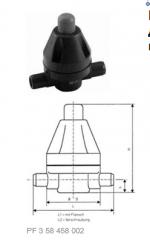 Клапан поддержания давления тип V 186, ...