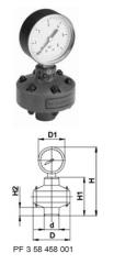 Разделитель мембранный тип Z700, PVC-UС манометром