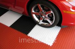 PVC floor covering for a floor and a nursery