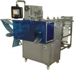Sachet automatic machine for packaging of wet