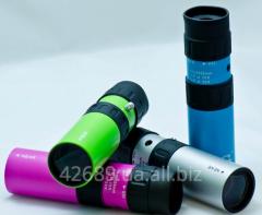 Монокуляр  10-30х25 JAXY голубой, зеленый, серый,