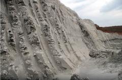 Clays forming fire-resistan
