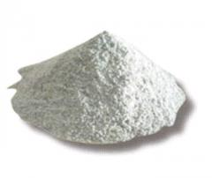 Powders ground chamotte and refractory clay