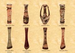 Вазы - Тюльпан 74 см, Афина 80 см, Олимпия 70 см,