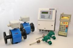 Heat meters for water systems of heat supply