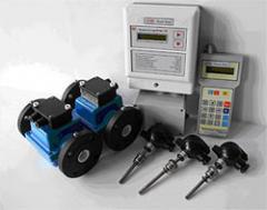 Heat meters with electromagnetic flowmeters