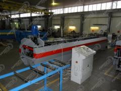 Установка для производства металлического...