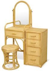Dressing table + padded stool Diana
