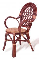 Wicker chair of the Classic of EL
