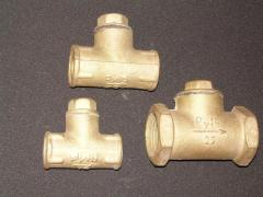 Backpressure lifting valve brass muftovy 16b1bk