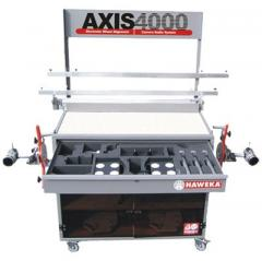 The AXIS 4000 system for measurement of wheel