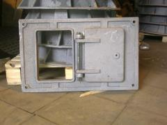 Ashpit door