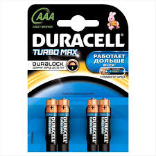 Battery finger-type Duracell TurboMax AA