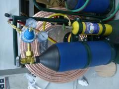 Свароч. пост СП-005 кислород 5 литра+1 литр мап