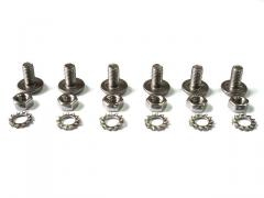 Bolts of 6 pieces set stainless steel of orig