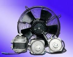 The axial fan diameter is 250 mm