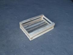 Ящики деревянные двухведерные под овощи, Изготовление деревянной тары под заказ
