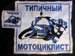 Типичный мотоциклист.