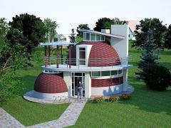 Купольный дом-сфера