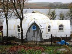 Купольный дом-сфера (30 кв.м., 1 комната)