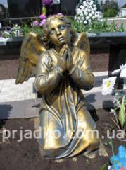 Figures are bronze