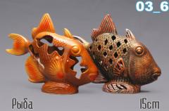 Decor for the house fish - 15 cm