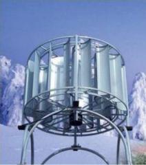 Wind-generating vertical installations