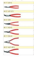 Щипці для стопорних кілець 46 11 G(0-4)