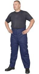 Брюки ватные, утепленные брюки, спецодежда мужская