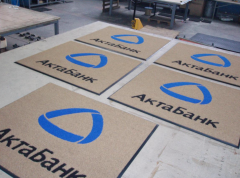 Carpets image with logo or drawing TM GAPA.